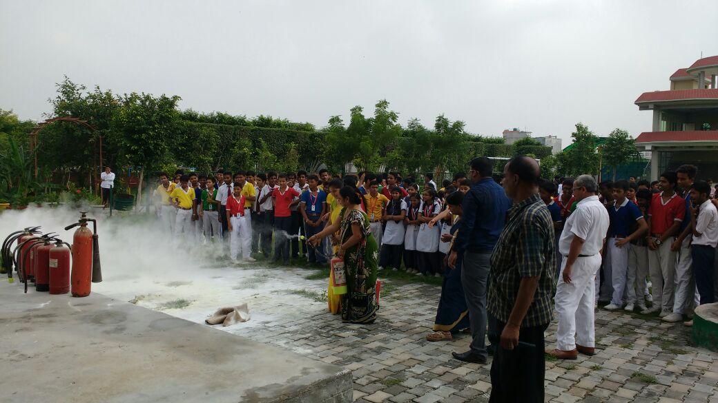 Mock Drill (Fire Safety) – Vishal International School